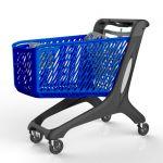 Nákupní vozík ECO 210 se sedačkou
