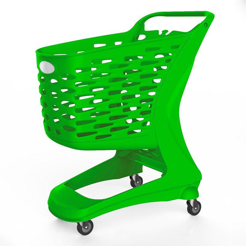 Nákupní vozík ECO 80 - Košík bez dětské sedačky