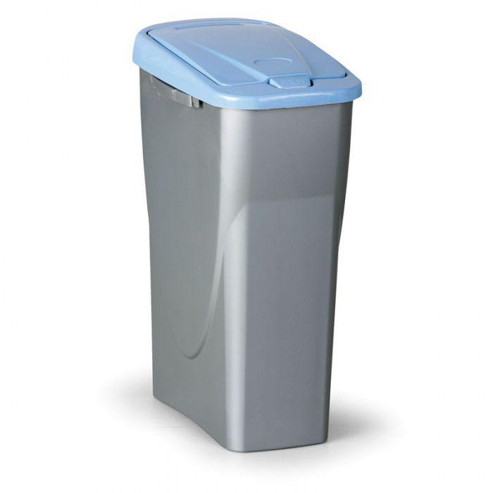 Odpadkový koš ECOBIN, Objem 40 litrů, modré víko
