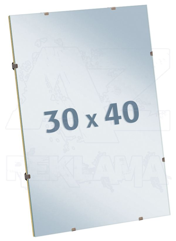 EUROKLIP fotorámeček Antireflexní Sklo 30x40
