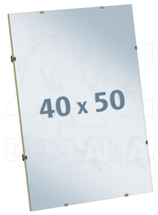 EUROKLIP fotorámeček Antireflexní Sklo 40x50