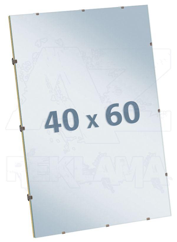 EUROKLIP fotorámeček Antireflexní Sklo 40x60