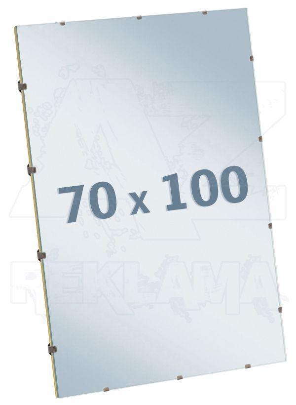 EUROKLIP fotorámeček Antireflexní Sklo 70x100