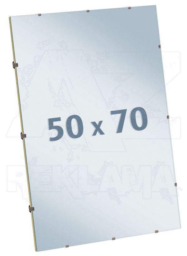 Euroclip čiré Sklo 50x70