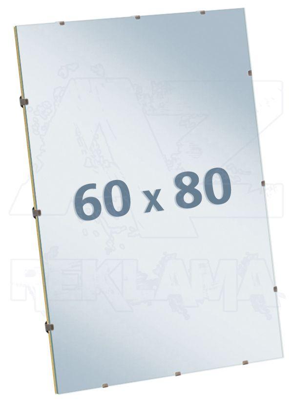 EUROKLIP fotorámeček Čiré Sklo 60x80