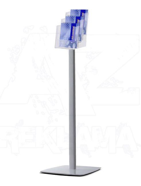 Prémiový stojan na podlahu se zásobníkem 3xA5 A-Z Reklama CZ
