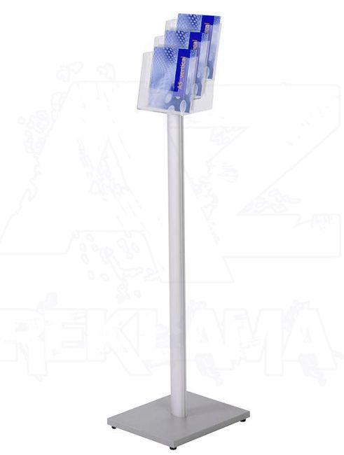 Stojan na podlahu se zásobníkem na letáky 3xA5