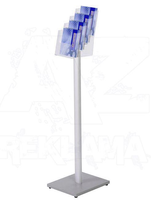 Stojan na podlahu se zásobníkem na letáky 4xA5 A-Z Reklama CZ
