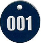 Klíčenka - modrá, set 001–100