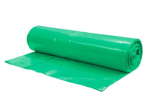 Pytel na odpad 120 litrů, 60 mic, zelený - 10 bal. po 20 ks