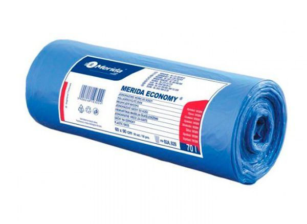 Sáčky na odpad 35 litrů 7,3 mic, modrý - 10 bal. po 50 sáčcích