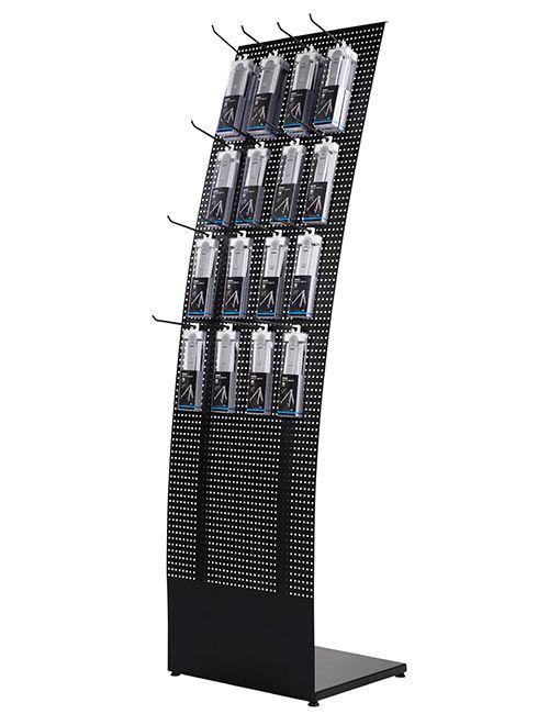 Convex Tower Stand - 460x1560x370 mm, Černý