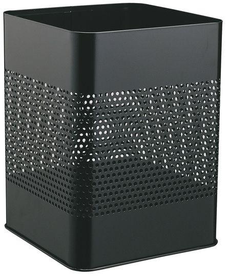 Kovový odpadkový koš 18,5P165 - Černý