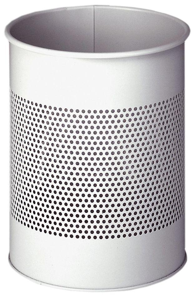 Kovový odpadkový koš 15/P165 - Šedý