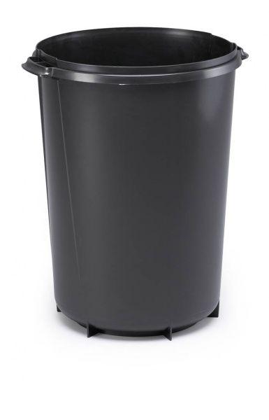 Odpadkový koš DURABIN ROUND 40 litrů - Černý