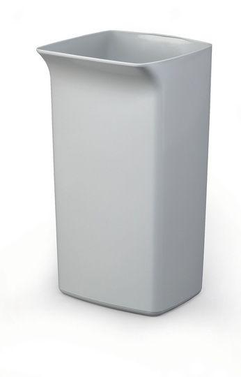 Odpadkový koš DURABIN SQUARE 40 litrů - Šedý