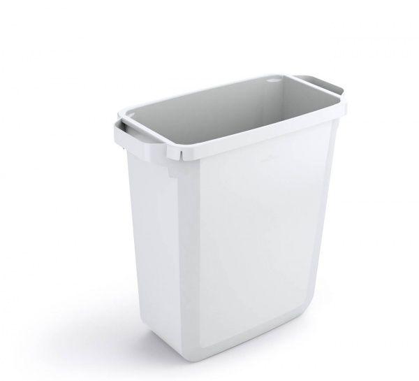 Odpadkový koš DURABLE - DURABIN 60 litrů - Bílý