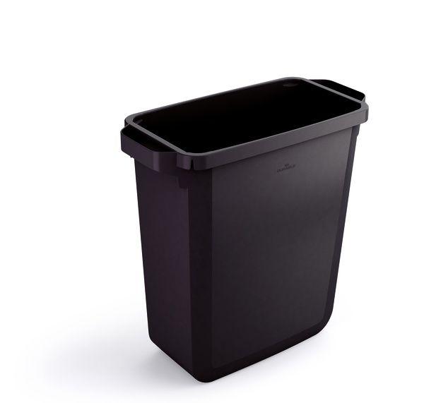 Odpadkový koš DURABLE - DURABIN 60 litrů - Černý