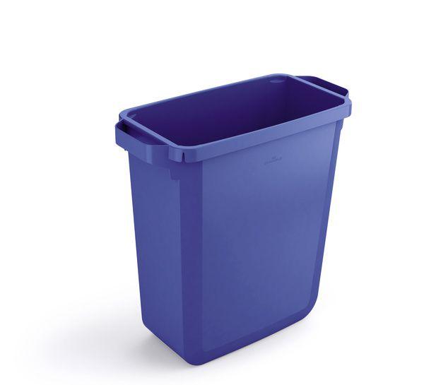 Odpadkový koš DURABLE - DURABIN 60 litrů - Modrý