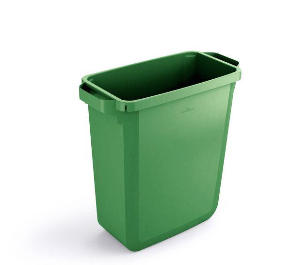 Odpadkový koš DURABLE - DURABIN 60 litrů - Zelený