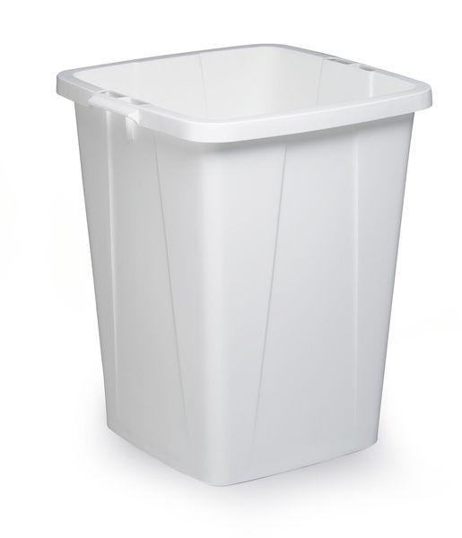Odpadkový koš DURABLE - DURABIN 90 litrů - Bílý