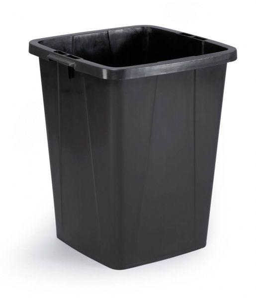 Odpadkový koš DURABLE - DURABIN 90 litrů - Černý