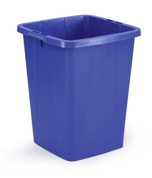 Odpadkový koš DURABLE - DURABIN 90 litrů - Modrý