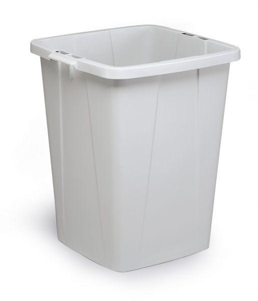 Odpadkový koš DURABLE - DURABIN 90 litrů - Šedý