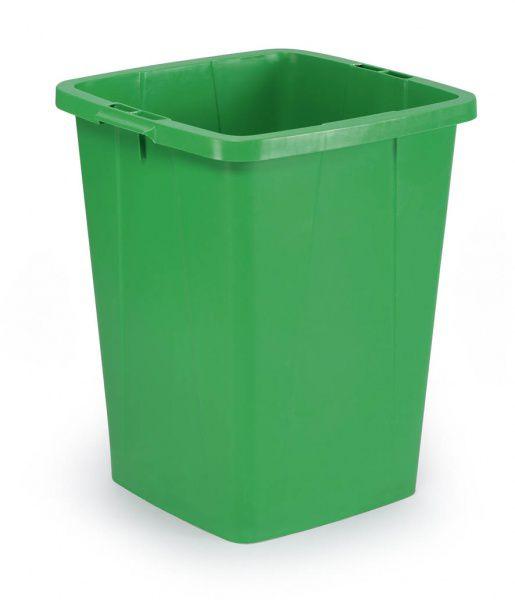 Odpadkový koš DURABLE - DURABIN 90 litrů - Zelený