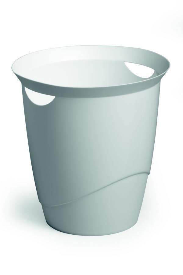 Odpadkový koš DURABLE TREND 16 L - Bílá