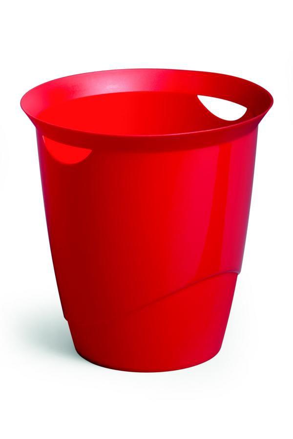 Odpadkový koš DURABLE TREND 16 L - Červená