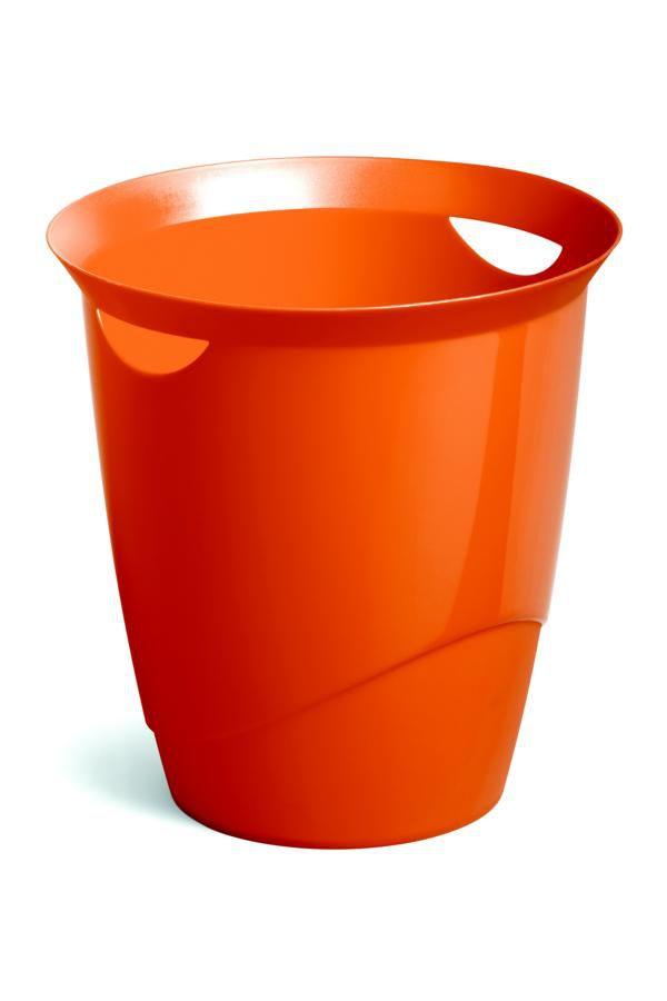 Odpadkový koš DURABLE TREND 16 L - Oranžová