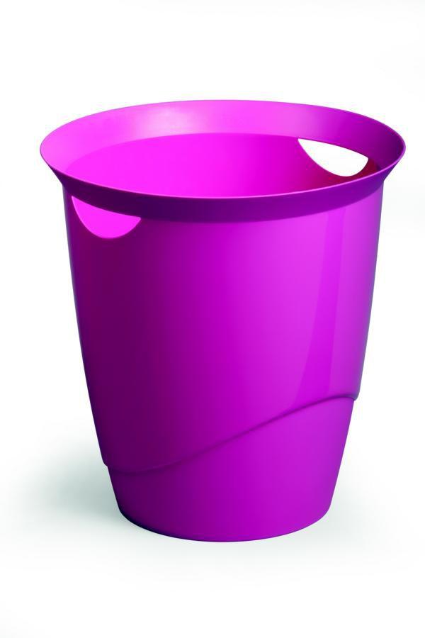Odpadkový koš DURABLE TREND 16 L - Růžová