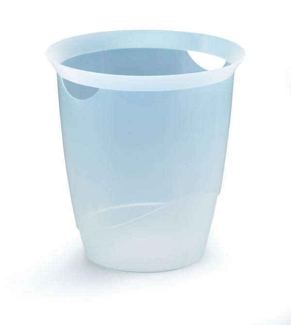Odpadkový koš DURABLE TREND 16 L - Transparentní