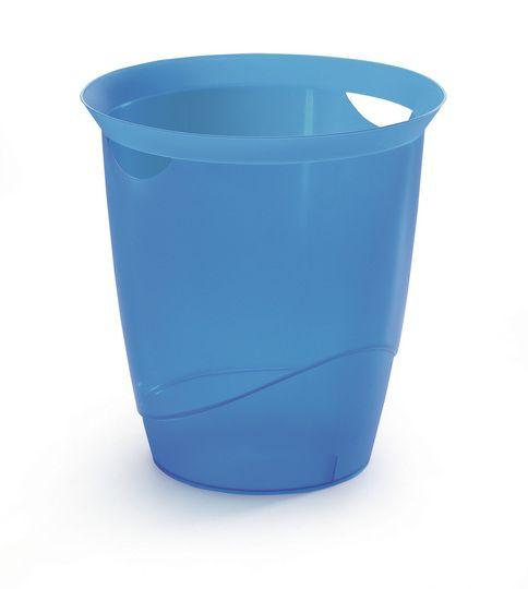 Odpadkový koš TREND 16 L - Transp. Modrá