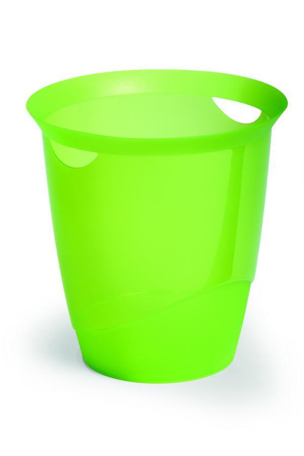Odpadkový koš TREND 16 L - Transp. Zelená