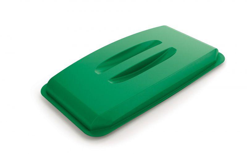 Poklop na odpadkový koš - DURABIN LID 60 - Zelený