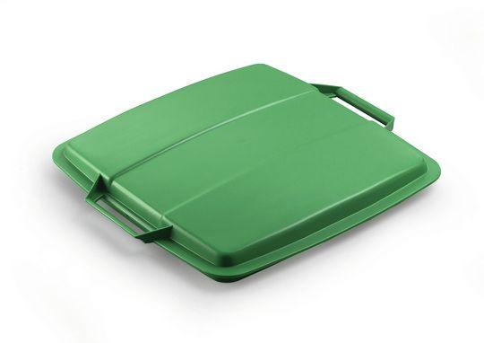 Poklop na odpadkový koš - DURABIN LID 90 - Zelený