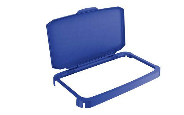 Výklopný poklop na odpadkový koš - DURABIN 60 - Modrý