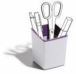 VARICOLOR stojánek na tužky - Purpurová