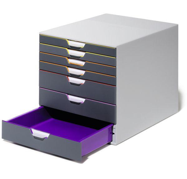 DURABLE Zásuvkový box se 7 přihrádkami - VARICOLOR 7