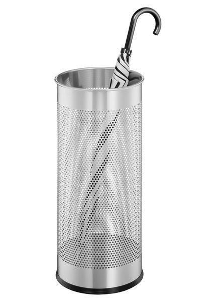 Kovový stojan na deštníky - Stříbrný
