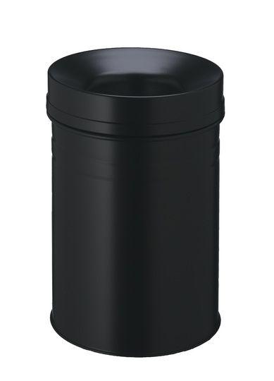 Samozhášecí odpadkový koš Safe+, 15 litrů - Černý