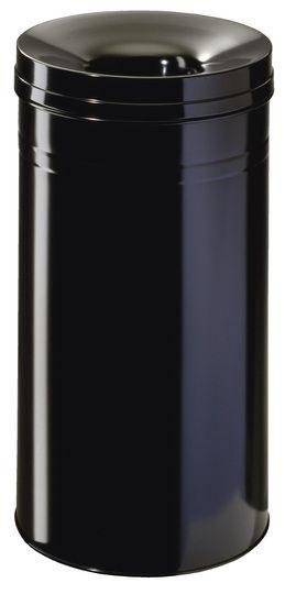 Samozhášecí odpadkový koš Safe+, 30 litrů - Černý