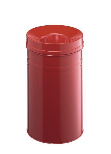 Samozhášecí odpadkový koš Safe+, 30 litrů - Červený