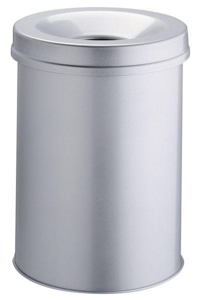 Samozhášecí odpadkový koš Safe, 30 litrů - Šedý