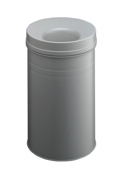 Samozhášecí odpadkový koš Safe+, 30 litrů - Šedý