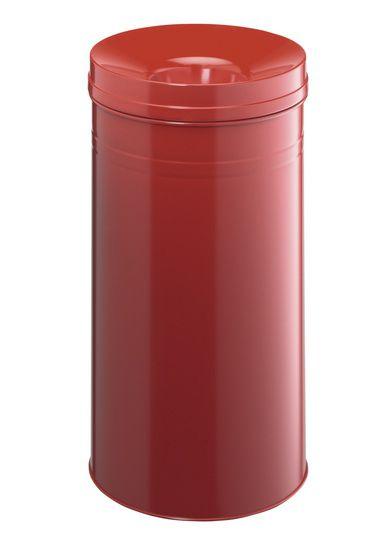 Samozhášecí odpadkový koš Safe+, 60 litrů - Červený