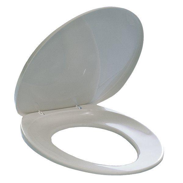 WC záchodové sedací prkénko IDEAL - bílé barvy