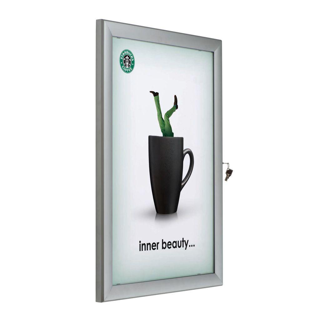 Uzamykatelná vitrína na plakát formátu B2
